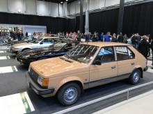 Årets Bil 1970-1979 var ett uppskattat tema som inte kan ha varit helt lätt att få till.  Talbot Horizon (1979), Porsche 928 (1978), Rover 3500 (1977) samt Simca 1307/1508 (1976). (Foto Filip Stén)