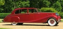 Aga Khans Phantom IV levererad 1952 med kaross från Hooper.