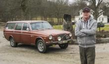 Volvoingenjören Börje Thor byggde på fritiden den här Volvo 165:an 1974 åt Polarvagnen. Nyligen har han lyckats köpa den och han tänker nu renovera bilen.