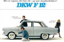 Det vr dock rätt vanligt att man använde samma bild för flera olika marknader. Här är DKW F12 i Danmark