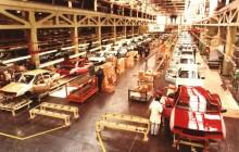 Ford Sierra började byggas en kort period innan fabriken stängdes.