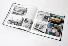 Boken innehåller många bilder från tiden då 700-serien togs fram.