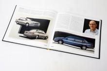 En mängd skisser som designern Håkan Malmgren gjort publiceras för första gången i boken.