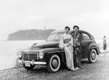 En av de 20 Volvo PV444 som togs till Japan 1951.