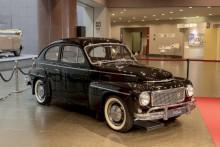 Bilen som nu står på Toyotas museum är en PV544 Special II som registrerades i september 1959, därmed är den en av de första bilarna som hade trepunktsbälte standardmonterat. I Klassiker nr 10/2016 gjorde vi en Sverigeresa i norra Halland med det här exemplaret.