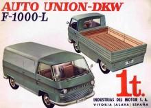 DKW F1000L var en ny modern kaross, under skalet var dock inget förnyat i onödan.