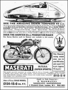 "Maserati tipo 50cc, ""Paddan"""