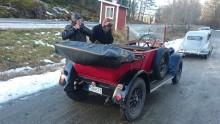Rallyts allra äldsta bil, en Fiat 501 från år 1925. Den framfördes av herrarna Öhman och Gray från Sollentuna. En fantastisk  prestation med en bil som snart fyller 100!