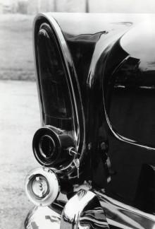 Vänster bakljus hade ett inbyggt tanklock.