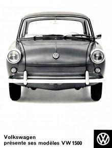 Den franska broschyren över Volkswagens nya typ 3.