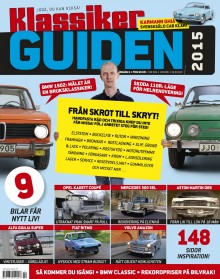 Hela storyn om Klassikers BMW finns i Klassikerguiden 2015.