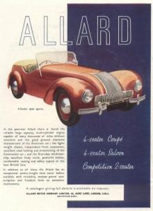 Allards K,L och M-serie bilar är desto mer kända