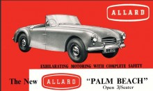 Palm Beach var en mer modern sportbil än föregångarna, 80 exemplar byggdes.