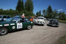 Regularityklassen bjuder på en skön blandning bilar.
