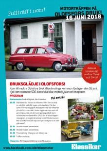 Dags för Motorträffen i Olofsfors!
