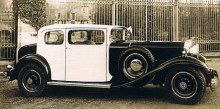 """Packard model 733 """"Viscaya coupe"""" 1930"""