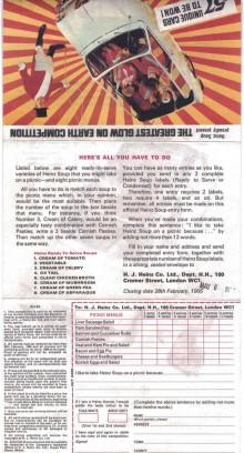Tävlingsformuläret som lockade miljoner att deltaga.