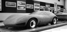 Arbetet gick rekordfort, första lermodellen var klar redan i oktober 1965, här har den finslipats lite mer.