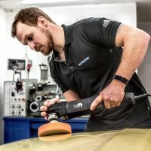 Daniel Omarsson kommer att lära deltagarna polering från grunden och även ge många tips om rekonditionering.