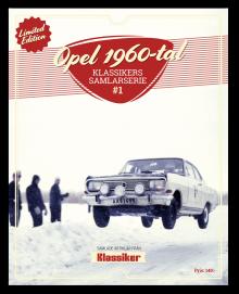 Specialutgåva Opel 1960-tal – åter i lager!