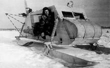 Föregångaren NKL-16, vara brevbärare i Sibirien var ett tufft yrke