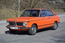 BMW Touring som varit med i Klassiker för ett tiotal år sedan. Just nu ligger budet på 80 000 kr.
