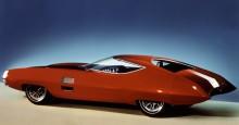 X-stiletto, extrem, avancerad och futuritsisk. Men ändå kom man använda delar av den. Inverterad bakruta sågs under början av sjuttiotalet på en del GM-bilar, och bakpartiet återfanns i mer modest form på Cadillac Eldorado 1967.