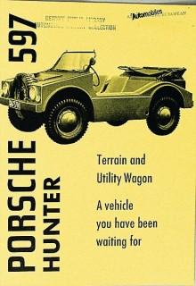 En broschyr för USA togs fram, där man kallade den Hunter
