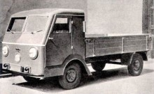 WL1200, lastbilen med VW-motor fram.
