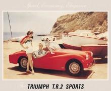 TR2, skillnaderna ser sublima ut, men det fanns inte många gemensamma nämnare mellan TR1 och TR2