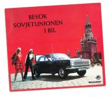 Sovjetunionen är det nya heta resmålet, i alla fall om vi får tro den statliga resebyrån Intourist.