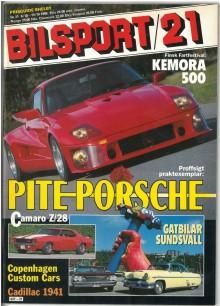 Pite-porschen var på omslaget av Bilsport 1988. Nu är den till salu hos Auto Classica i Ystad.