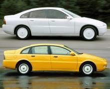 Konceptbilen Volvo ECC och den snarlika brasilianska lyxbilen Emme 422 T utrustad med en fyrcylindrig motor från Lotus Esprit Turbo!