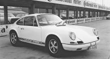 Hårdbantad Porsche