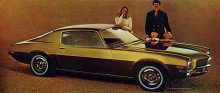 Nya Camaron hade en helt ny kaross, årsmodell 1970½