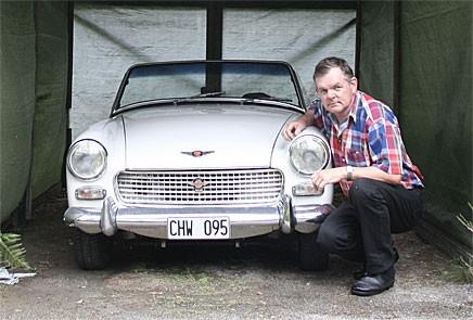 Tommy köpte sin Sprite 1999 och har sedan dess kört en hel del med den.