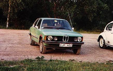 Lotta har varit i familjen sedan ny. 1989 var det inte mycket annat som talade för den mintgrüna BMW:n.