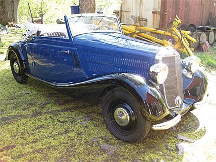 Mercedes 170V Cabriolet A 1939 gick för 395 000 kronor.