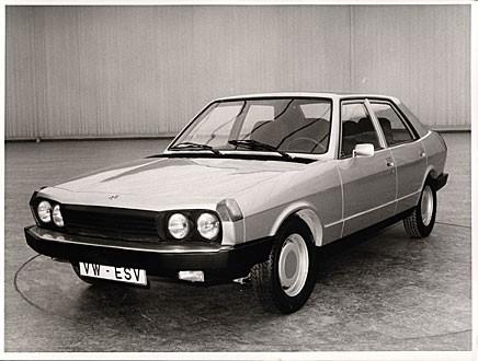 Volkswagens ESVW1 hade bland annat automatiska säkerhetsbälten.