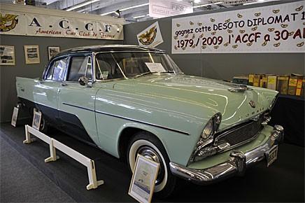 Den franska jänkebilklubben har alltid ett billotteri, i år var vinsten en De Soto Diplomat 1956. Diplomat hade namnsdag den 3 februari, läs mer på www.klassiker.nu.