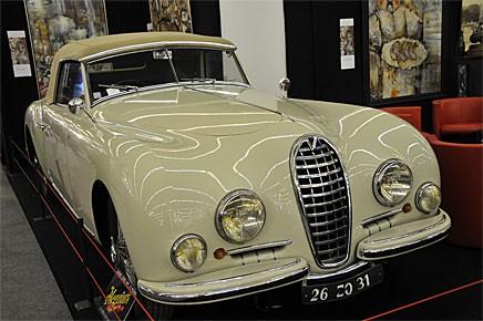 En fransk Talbot från tidigt 50-tal, inte att förväxla med de omdöpta Simcor som fanns på 1980-talet.
