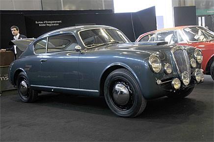 En vacker Lancia Aurelia B20GT med specialutrustning av Nardi nådde inte reservationspriset och såldes inte på auktionen.