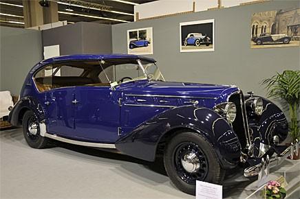 Det var inte Buick och Olds som 1955 var först med fyra dörrars hardtop, det måste vara denna Delahaye från 1936 med kaross av Labourdette. Den har inte ens A-stolpar!