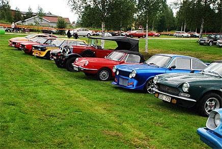 Oj - vad många Fiat det finns i Malung. Heter alla Andersson i här?