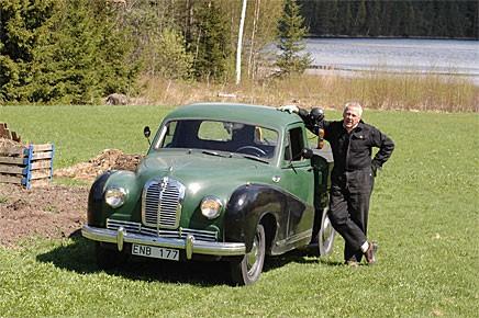 Bo Legelius har ägt sin A70 Hereford i nästan 30 år och fördubblat körsträckan.