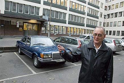 Gunnar Widsell har just tagit över nycklarna till Dr Müller.