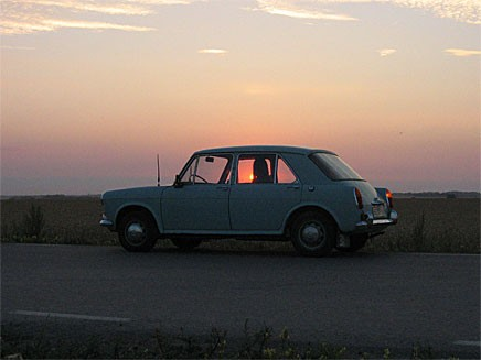 Issigonis smartaste bil? Micke Pettersson har fått sin Morris 1100 gratis!