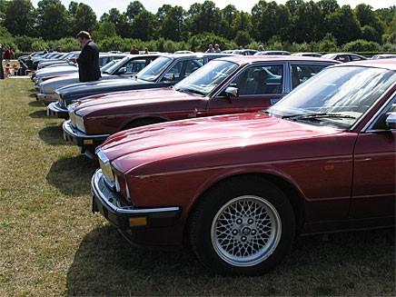 Bildspel: Jaguarklubben firade 35 år