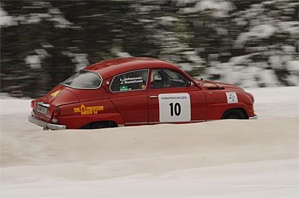 Jonas Gustavsson och Lars Johansson slutade på femte plats i klass 2.