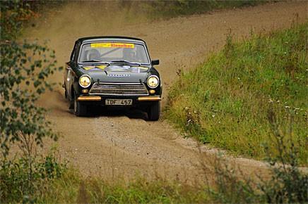 Kenneth Waltersson tog både hem Riksmästerskapen och Klassiska Rallycupen med sin Ford Cortina Lotus